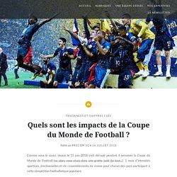 Quels sont les impacts de la Coupe du Monde de Football ? - Le Blog Tourisme institutionnel
