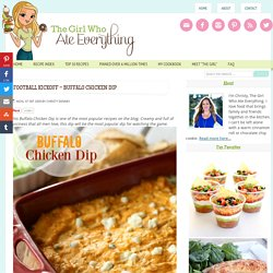 Football Kickoff - Buffalo Chicken Dip