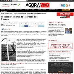 Football et liberté de la presse sur Internet