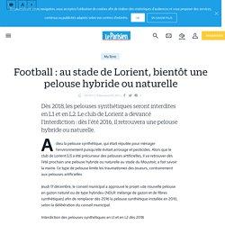 Football : au stade de Lorient, bientôt une pelouse hybride ou naturelle - Le Parisien