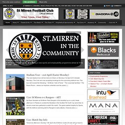 St Mirren Football Club | Official Website