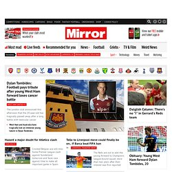 Mirror Football - Breaking Football News, Comment and Opinion, Football Pictures and Archive