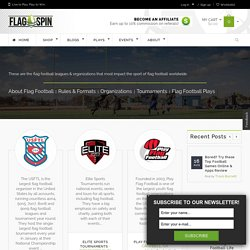 Flag Football Leagues & Organizations