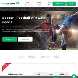 soccer scores api