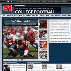 NCAA Football news, scores, rankings - College Football