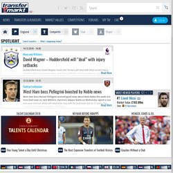 The Football Portal for the Premier League and Transfer Rumour Forum - - transfermarkt.co.uk