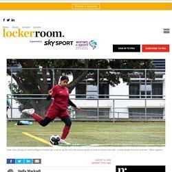 Teen Footballer's Goal to be Role Model for Muslim Girls