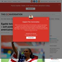 Égalité femmes-hommes: le «softpower» desfootballeuses américaines