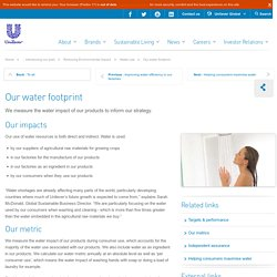 Unilever global company website
