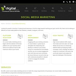 Social Media Marketing - Digital Footprints Corporation