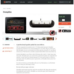 Stompbox: Footswitch controller for iPad, iPhone, & iPod touch