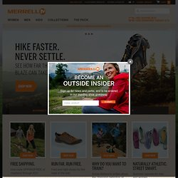 Hiking Boots, Shoes & Outdoor Clothing - Official Online Store