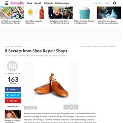 Shoe Advice - Footwear Tips from Cobblers at WomansDay.com