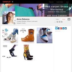 Anna Zaboeva, Footwear creator from Budapest, Hungary