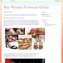 Buy Women Footwear Online: Trendy Summer Women's Sandal For Every Occasion
