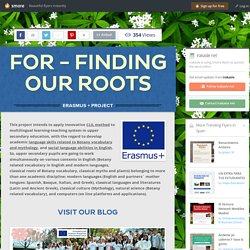 FOR - Finding Our Roots