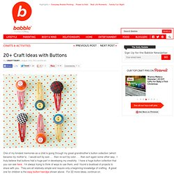 For the Love of Buttons | The New Home Ec