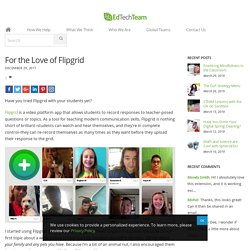 For the Love of Flipgrid