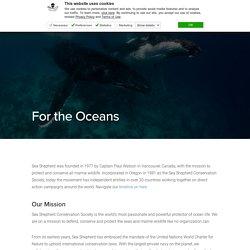 For the Oceans – Sea Shepherd