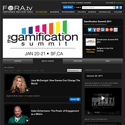 Gamification Summit 2011