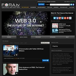 Web 3.0: The Future of the Internet