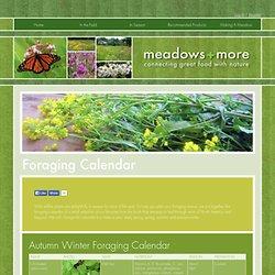 Foraging Calendar