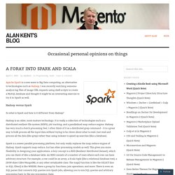 A Foray into Spark and Scala