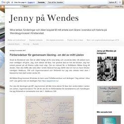 Jenny på Wendes: Förberedelser för gemensam läsning - en del av mitt Läslov