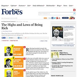 The Highs and Lows of Being Rich