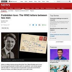 Forbidden love: The WW2 letters between two men