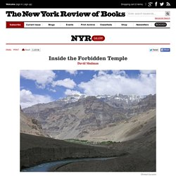 Inside the Forbidden Temple by David Shulman