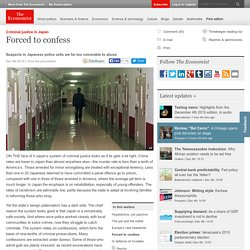 Forced to confess