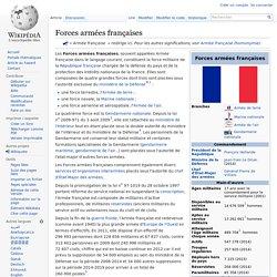 Forces armées françaises