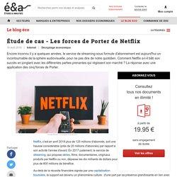 Étude de cas - Les forces de Porter de Netflix - blog Etudes-et-analyses.com