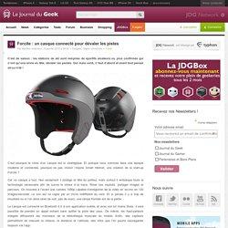 Forcite : un casque connecté pour dévaler les pistes