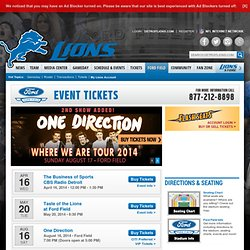 Detroit Lions | Ford Field