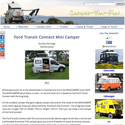 Ford Transit Connect Mini Camper