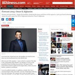 Forecast 2015: Omar K Alghanim - Industries