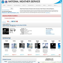 NOAA-Germantown-Forecast