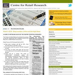 Retail Forecast for 2018 - Centre for Retail Research, Nottingham UK