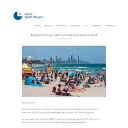 David Koch forecasts continued Gold Coast market rebound