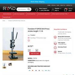 Foredom P-DP30 Drill Press stroke length 1-1/4