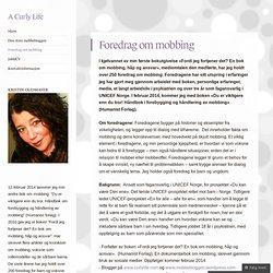 Foredrag om mobbing