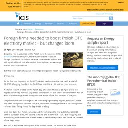 Foreign firms in Polish OTC electricity market – napisac maila!!!!!