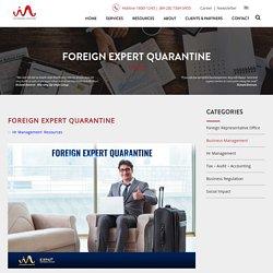 Foreign Experts Quarantine in Vietnam