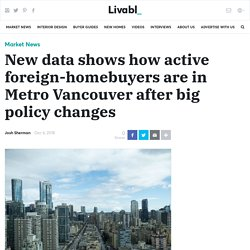 New data shows how active foreign-homebuyers are in Metro Vancouver after big policy changes