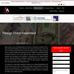 Foreign Direct Investment Policy in India