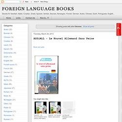 German Resources - Books download