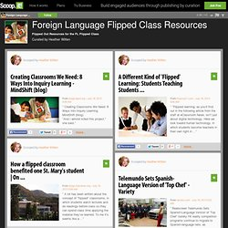 Foreign Language Flipped Class Resources