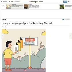 Foreign Language Apps for Traveling Abroad